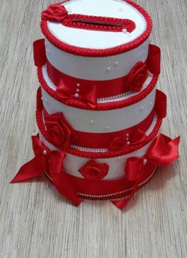 """Семейный банк для денег """"Свадебный Торт"""""""
