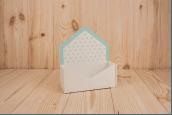 Конверт деревянный для цветов и подарков