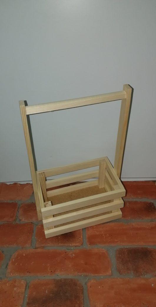 Ящик реечный с ручкой 20*13*34 см (малый) В НАЛИЧИИ