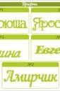 """""""Годик"""" с именем, метриками и 12 фоторамками Для мальчика"""