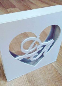 Заказать и купить уникальный сосуд! Деревянная коробка для песочной церемонии на свадьбу заказать в Екатеринбурге