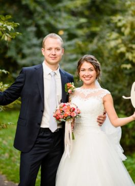 Набор для свадебной фотосессии: Дата свадьбы 35 см длиной и слово Love из мдф с покраской в любой цвет