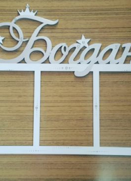 фоторамка с именем Богдан, купить фоторамку детскую в Екатеринбурге, имя Богдан из дерева заказать в Екатеринбурге