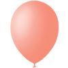 """Шар 30 см 12"""" с гелием персикового цвета на свадьбу или день рождения"""