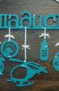 Имя с метриками и знаками Зодиака, 1 фоторамкой