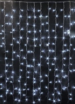 Аренда гирлянды, световой занавес 2 на 3 метра в аренду