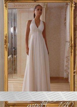 Платье свадебное в стиле Ампир (греческий) 44-46-48
