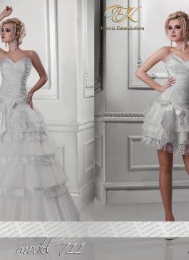 """Платье-трансформер свадебное """"Принцесса"""" белый цвет 38,40,42 размер"""