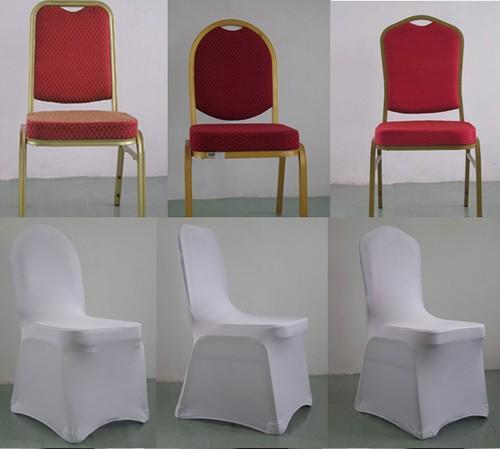 Белые чехлы на стулья белые универсальные ПРОКАТ