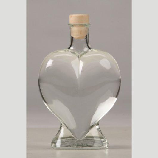 Купить емкость для песочной церемонии. Стеклянный сосуд Сердце для песочной церемонии Италия