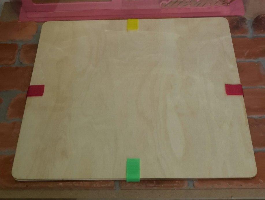 Деревянная Азбука ЭКО (без рисунков)
