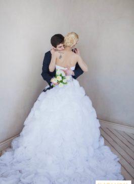 """Платье свадебное пышное """"Розы"""""""
