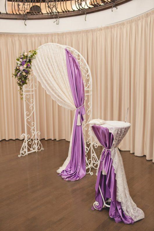 Аренда свадебной арки! Свадебная арка кованая белая прокат!