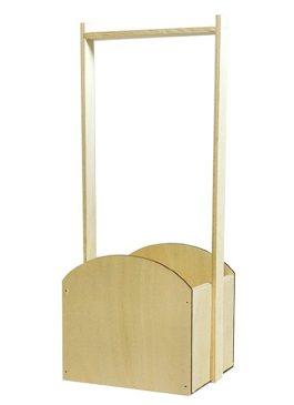Ящик из фанеры с ручкой 15,5*13*36,5 см