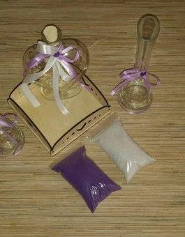 """купить свадебные аксессуары для проведения песочной церемонии. Набор для песочной церемонии """"Сиреневый"""""""
