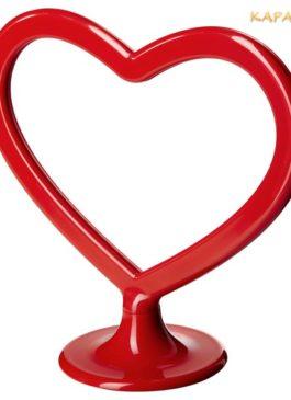 """Аренда и Прокат. Подставки """"Сердце"""" для нумерации столов на банкете и свадьбе"""