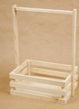 Ящик реечный с ручкой 25*18*10 см (средний)