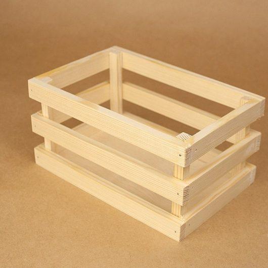 Ящик реечный 25*18*10 см (средний) в наличии