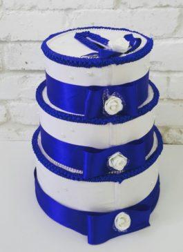 """Сундучок для денег """"Свадебный торт"""""""