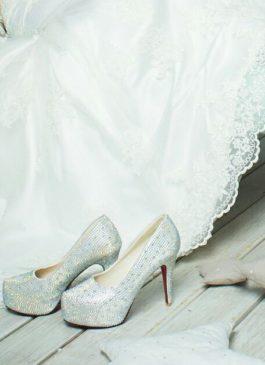 Туфли свадебные на каблуке 37