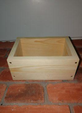 Ящик из массива 20*13*10 см (малый)