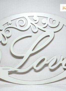 """Декор """"Love"""" белого цвета для оформления фотозоны или президиума молодых на свадьбу или другое мероприятие"""