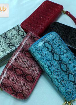 Клатч - кошелёк  из иск. кожи в  ассортименте