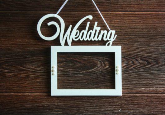 Фоторамка Wedding формат А4