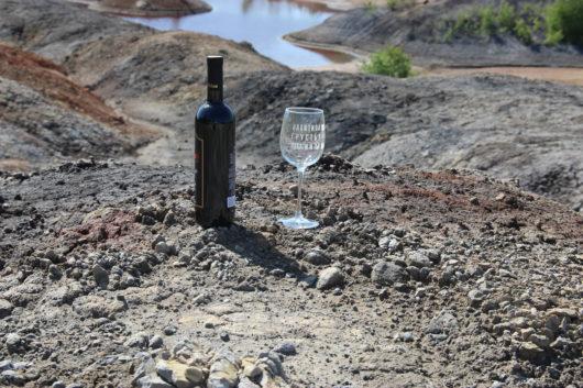 ПОД ЗАКАЗ Бокал для вина 23 см с гравировкой  нАКАТИЛА ГРУСТЬ, НАКАТИ И ТЫ!