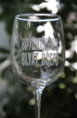 ПОД ЗАКАЗ Бокал для вина 23 см Диаметр 8 см 420 мл с гравировкой Нарушительница Blayt ВСЕГО