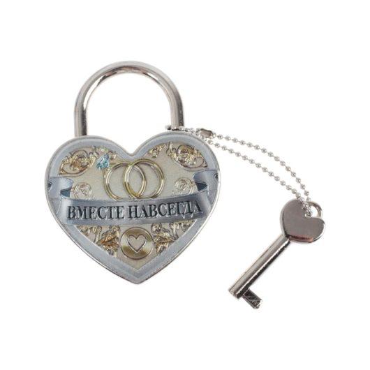 """Замочек """"Совет да любовь"""" - модель замка с  ключом! в наличии"""