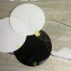Подложка из белого оргстекла 3мм диаметр 30см
