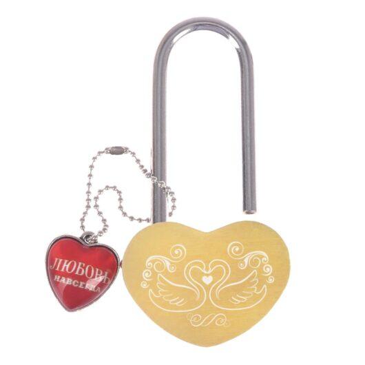 """Замочек- сердечко """"Свадебный"""" без ключей  замок в наличии"""